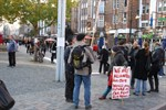 Occupy Rostock - Protestaktion auf dem Uniplatz