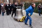 Ankunft der Sakramentsglocke in der Marienkirche