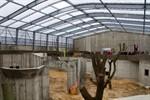 Der Zoo Rostock feiert Richtfest des Darwineums