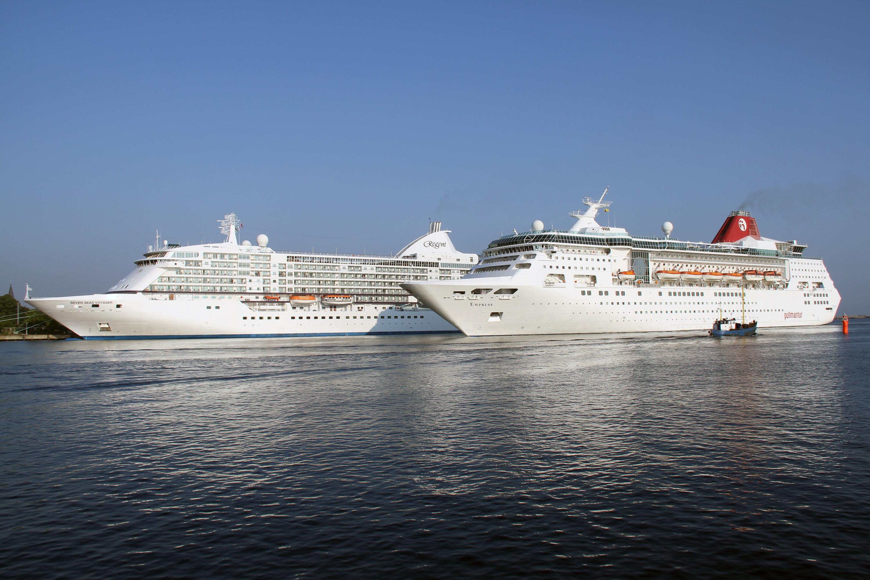 Kreuzfahrtschiffe Warnemünde - Anläufe 2014