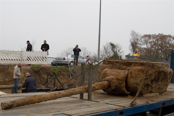 Die Suche am Fundort des T34 Panzers geht 2012 weiter
