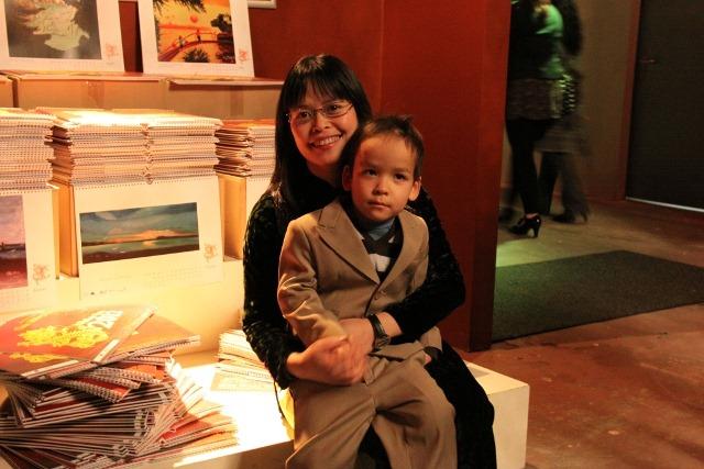 Vu Thanh Van und Sohn Andrzej
