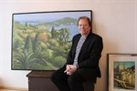 """Karl-Heinz Moeller präsentiert Malerei """"Nördlich von Siena"""""""