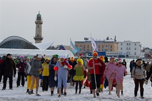 Eisfasching 2012 in Warnemünde