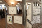 "Ausstellung ""EURO-SPOTT"" zeigt Karikaturen im Rathaus"