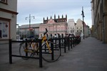 99 neue Fahrradbügel in der City