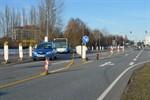 Kreuzung am Ortseingang Warnemünde (fast) wieder frei