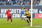 Hansa Rostock unterliegt dem FSV Frankfurt mit 0:5