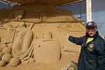 3. Warnemünder Sandwelt 2012 am Passagierkai