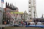 Schausteller-Gottesdienst auf dem Rostocker Ostermarkt