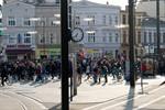 Demonstration nach Buttersäure-Anschlag auf das PWH