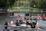 Kanupolo-Turnier 2012 im Flussbad Rostock