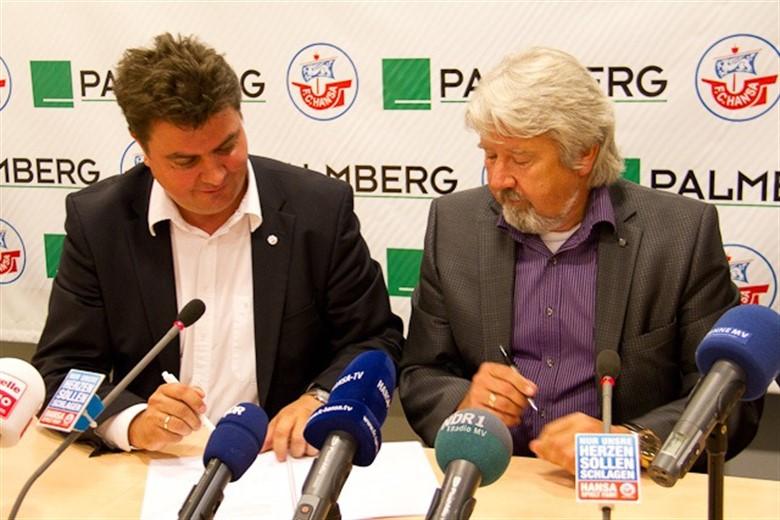 Hansa Trikots Künftig Mit Palmberg Logo Rostock Heute
