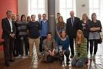 Schüler aus der Partnerstadt Raleigh zu Gast im Rathaus