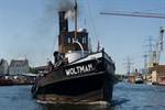 Gemischtgetakelte und Dampfer im Fokus der Hanse Sail 2012