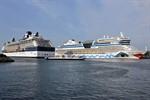 18 Anläufe in sechs Tagen im Kreuzfahrthafen Warnemünde