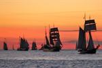 Sonne und Segel satt zur Hanse Sail 2012