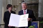 Bundespräsident Gauck in Rostock zum Ehrenbürger ernannt