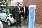 Zwei neue Elektroladestationen für Fahrzeuge eingeweiht
