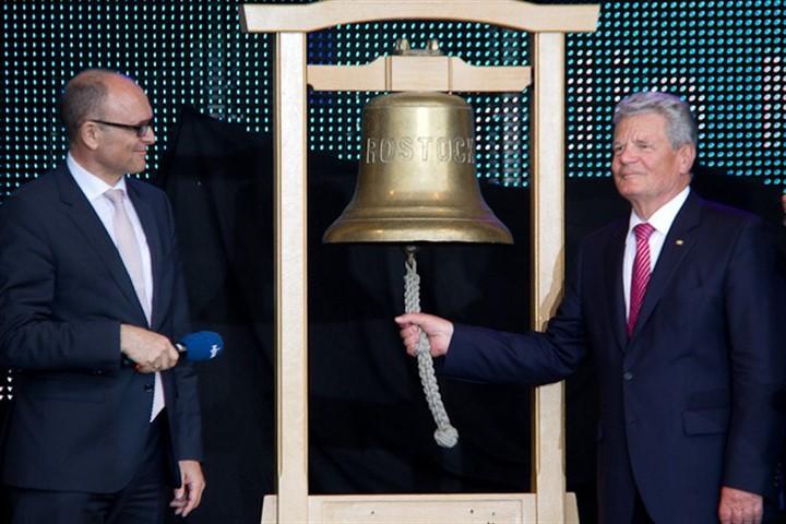 Bundespräsident eröffnet 22. Hanse Sail 2012