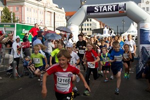 Start des Kidsmarathons 2012