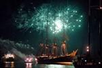 Sailor's Feuerwerk zur Hanse Sail 2012