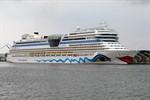 AIDAblu beendet diesjährige Kreuzfahrtsaison in der Ostsee