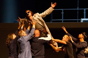 "Probe von ""The Who's Tommy"" im Volkstheater Rostock"