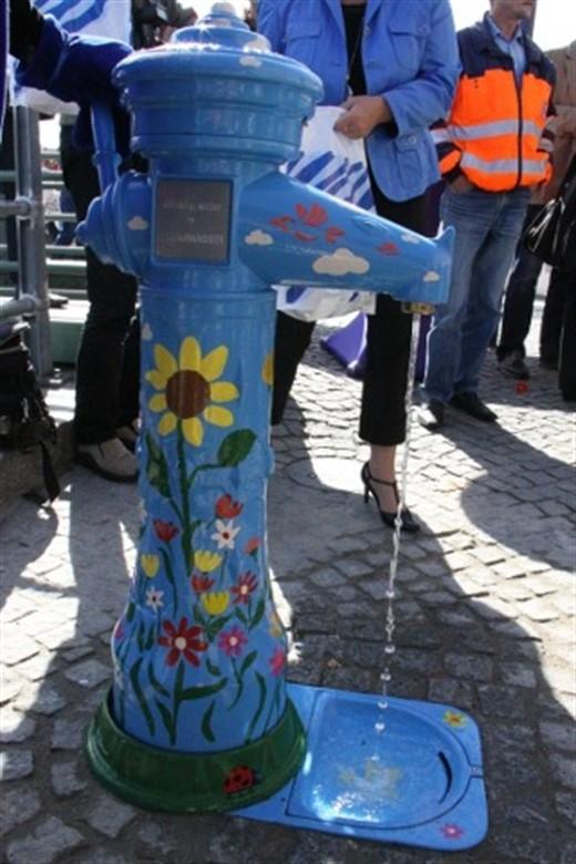 Neuer Trinkwasserbrunnen in Warnemünde | Rostock-Heute