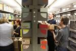 Uwe Johnson-Archiv kommt unbeschadet im Bücherspeicher an
