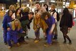 Zombie-Flashmob zu Halloween 2012