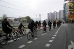 Polizei bremst Critical Mass aus