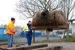T-34 Panzerwrack ist wieder in Rostock
