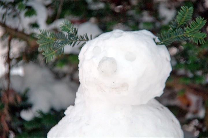 Weiße Nikolausnacht: Winter 2012 in Warnemünde