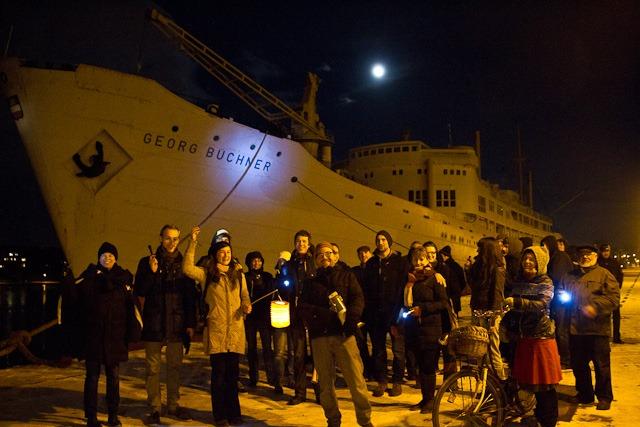 Rettet Schorsch - Protest zum Erhalt der Georg Büchner