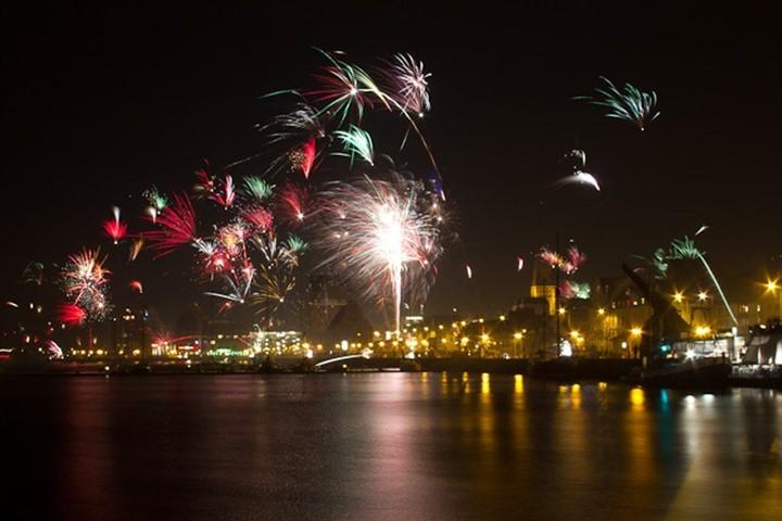 Rostock begrüßt das neue Jahr 2013