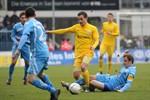 Hansa Rostock unterliegt dem Chemnitzer FC mit 1:2