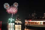 Vier Rostock Port Partys 2013 im Kreuzfahrthafen Warnemünde