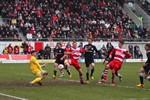 Hansa Rostock unterliegt dem Halleschen FC mit 1:3