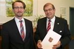 Zweite Amtszeit für Rektor Schareck