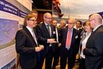 Offshore Infocenter Rostock auf dem Traditionsschiff eröffnet
