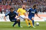 Hansa Rostock trennt sich vom Karlsruher SC 1:1