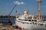 Morgen früh verlässt die Georg Büchner den Stadthafen