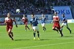 Hansa Rostock und Holstein Kiel trennen sich torlos
