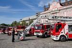 Tatütata - neue Fahrzeuge für die Feuerwehr sind da
