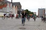 Rostock steigt auf zum Stadtradeln 2013