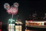 Letzte Rostock Port Party des Jahres in Warnemünde