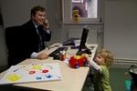 Familienfreundlichkeit: Eltern-Kind-Büro im Rathaus