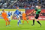 Hansa Rostock trennt sich torlos vom 1. FC Saarbrücken