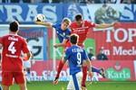 Hansa Rostock gewinnt gegen den Halleschen FC mit 2:1